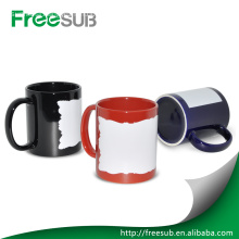 Wholesale black luminous digital photo coffee mugs